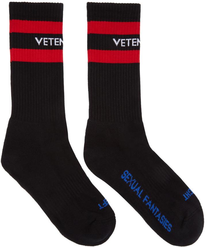 schwarze Socken von Vetements