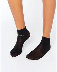 schwarze Socken von Wolford