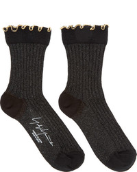 schwarze Socken von Yohji Yamamoto