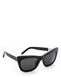 schwarze Sonnenbrille von 3.1 Phillip Lim