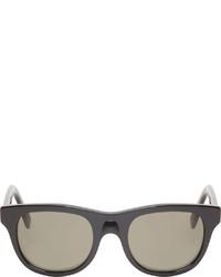 schwarze Sonnenbrille von A.P.C.