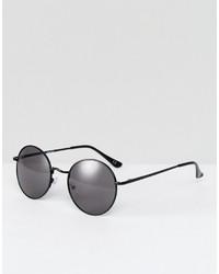 schwarze Sonnenbrille von Asos