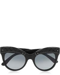schwarze Sonnenbrille von Bottega Veneta