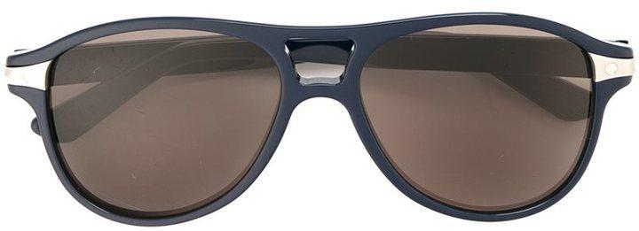 schwarze Sonnenbrille von Cartier
