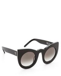 schwarze Sonnenbrille von Cat Eye