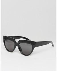 schwarze Sonnenbrille von Cheap Monday