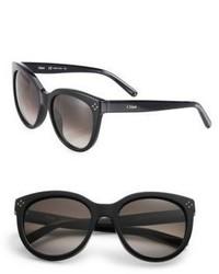 Schwarze Sonnenbrille von Chloé