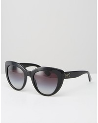 schwarze Sonnenbrille von Dolce & Gabbana