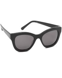 schwarze Sonnenbrille von Elizabeth and James