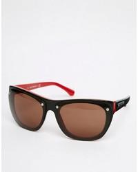 schwarze Sonnenbrille von Emporio Armani