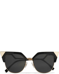 schwarze Sonnenbrille von Fendi
