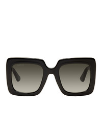 schwarze Sonnenbrille von Gucci
