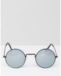 schwarze Sonnenbrille von Reclaimed Vintage