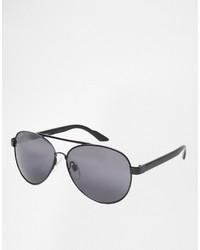 schwarze Sonnenbrille von Jack and Jones