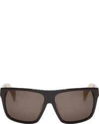 schwarze Sonnenbrille von Jil Sander