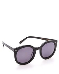 schwarze Sonnenbrille von Karen Walker