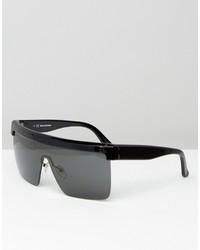 schwarze Sonnenbrille von Karl Lagerfeld