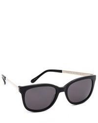 schwarze Sonnenbrille von Kate Spade