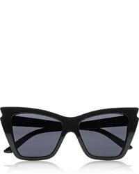 schwarze Sonnenbrille von Le Specs
