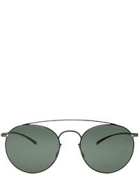 schwarze Sonnenbrille von Maison Margiela