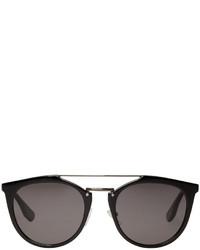 schwarze Sonnenbrille von McQ