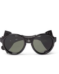 schwarze Sonnenbrille von Moncler