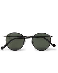schwarze Sonnenbrille von Moscot