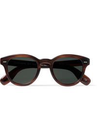 schwarze Sonnenbrille von Oliver Peoples