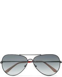 schwarze Sonnenbrille von Orlebar Brown