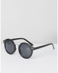 schwarze Sonnenbrille von Pieces