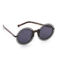 schwarze Sonnenbrille von Preen by Thornton Bregazzi