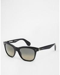 schwarze Sonnenbrille von Ralph Lauren