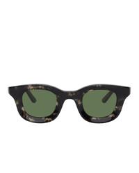 schwarze Sonnenbrille von Rhude