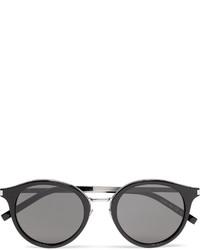 schwarze Sonnenbrille von Saint Laurent