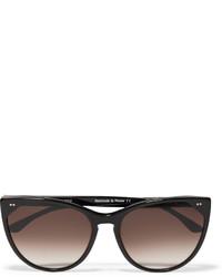 schwarze Sonnenbrille von Thierry Lasry