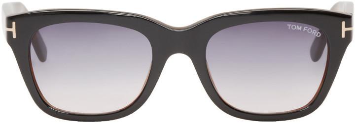 schwarze Sonnenbrille von Tom Ford