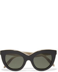 schwarze Sonnenbrille von Victoria Beckham