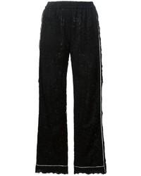 schwarze Spitzehose von Dolce & Gabbana