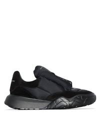 schwarze Sportschuhe von Alexander McQueen