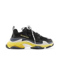 schwarze Sportschuhe von Balenciaga