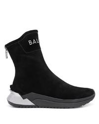 schwarze Sportschuhe von Balmain