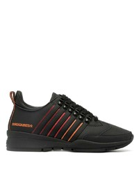schwarze Sportschuhe von DSQUARED2