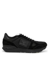 schwarze Sportschuhe von Emporio Armani