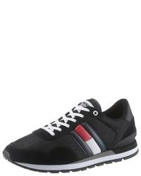 schwarze Sportschuhe von Tommy Jeans