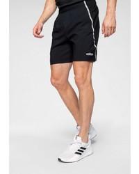 schwarze Sportshorts von adidas