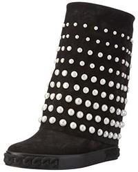 schwarze Stiefel von Casadei