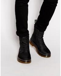 schwarze Stiefel von Dr. Martens