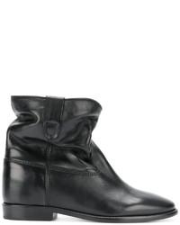 schwarze Stiefeletten von Isabel Marant