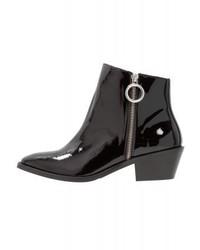 schwarze Stiefeletten von Moschino