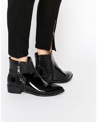 schwarze Stiefeletten von Vero Moda